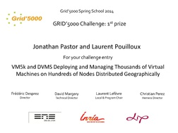 Best challenge entry to Jonathan Pastor and Laurent Pouilloux